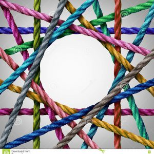 connected-diversity-circle-shaped-group-ropes-creating-centralized-circular-shape-as-connect-concept-business-74567493